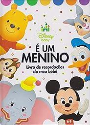 É Um Menino. Livro de Recordações - Coleção Disney Baby
