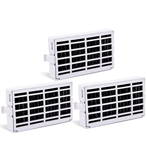 Refrigerator Air Filters Compatible with Whirlpool W10311524, W10335147, 2319308 Filter for Air1, W10315189 Fresh Flow by Pureza (3 Pack) by Pureza filters
