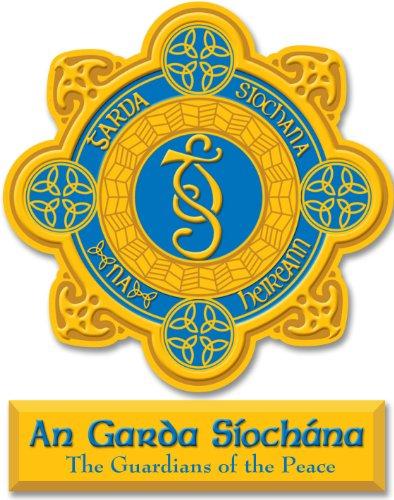 (Irish Garda Ireland Police Decal Vinyl Window)