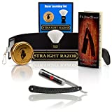 ~Blunt Not Sharp~ Gold Dollar Straight Razor Beginners Kit (Learning Shave Set)