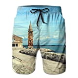 Pier Soft Sports Basketball Clothes Printing Swimming Drawstring Board Shorts Pockets
