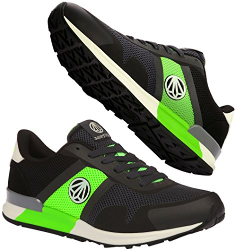 Paperplanes-1310 Unisex Fashion Casual Nighglow Running Trainer Shoes Black Green cheap new styles Cheapest cheap price discount Manchester Orange 100% Original discount eastbay pMPqYZbt