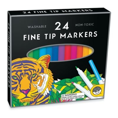 MindWare Fine Tip Markers: Set of 24