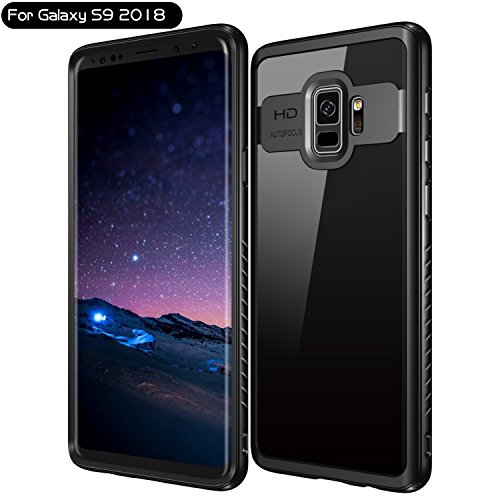 Galaxy S9 Vapesoon Lightweight Clear Slim Case for...