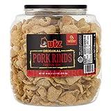Utz Pork Rinds, 18 oz Barrel