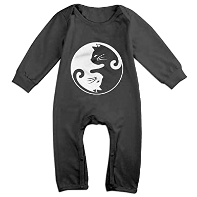 Baby & Toddler Clothing Toddler Baby Romper Jumpsuit Playsuit Outfits Clothing Longsleeve Kitty Clothing, Shoes & Accessories