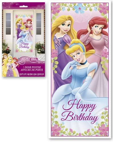 Amazon.com: Decoraciones De Pared Princesas De Disney Para ...