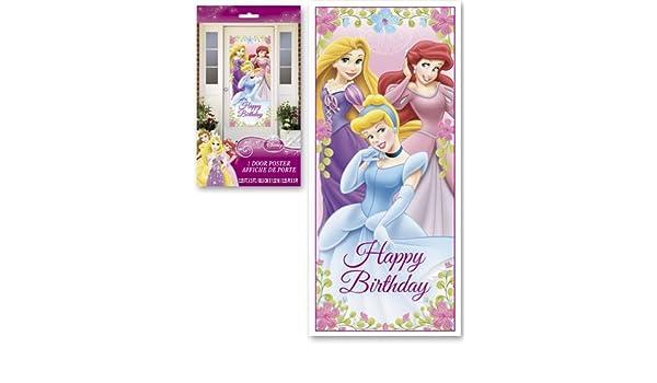Amazon.com: Decoraciones De Pared Princesas De Disney Para ...