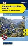 Outdoorkarte 19 Nationalpark Eifel - Ahrtal 1 : 35.000: Wandern, Rad. Monschau, Bad Münstereifel (Kümmerly+Frey Outdoorkarten Deutschland), glanzlaminiert, wasser-und reißfest