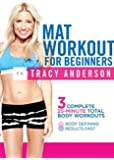 Amazon Com The Tracy Anderson Method Mat Workout Dvd