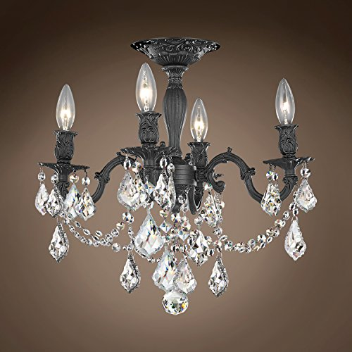 (Joshua Marshal 701585-051 - Traditional Versailles 4 Light 17