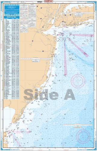 Waterproof Charts, Offshore Fish/Dive, 55F New Jersey ()