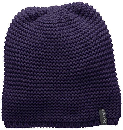 Columbia Women's Cascade Peak Beanie, Nightshade, One Size (Hat For Women Winter Columbia)