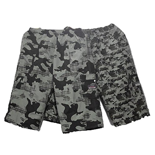 Beach Shorts Short de bain pour homme et Short de plage à séchage rapide, Set de 2 Shorts