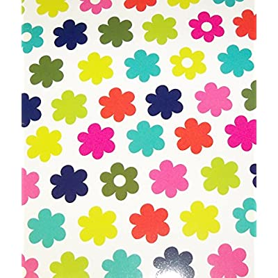 Pink Light Design 4 Folder Set ~ Pop Patterns (Flower Balls, Rows of Flowers, Rainbows of Love, Hearts in Hearts): Toys & Games