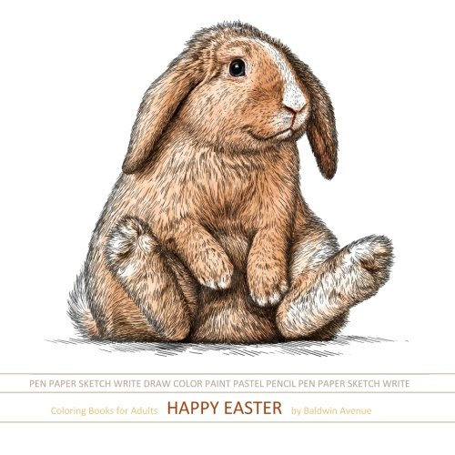 Amazon Coloring Books For Adults Happy Easter Adult Best Sellers In All Departm Al