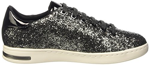 top D Grau Geox A Una Sneakers anthracitec9004 Donne Basso Delle Jaysen FPxwRxaq0