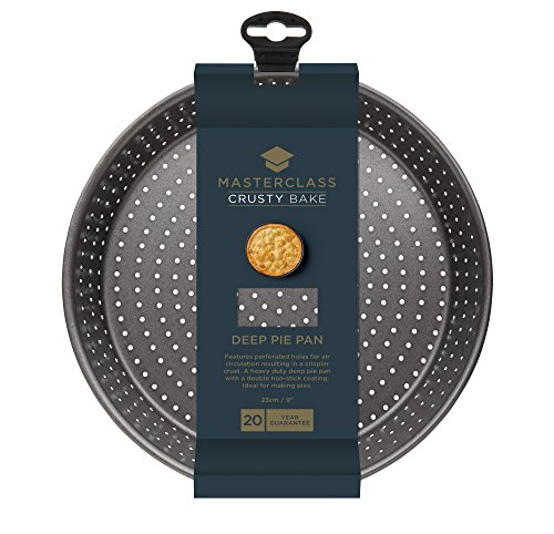 Masterclass Crusty Bake Non-stick Deep Pie Pan/tart Tin, 23x5cm, Sleeved by Master Class (Image #1)