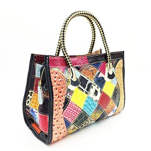 Eysee - Cartera de mano para mujer Varios colores multicolor 33cm*22cm*13cm multicolor