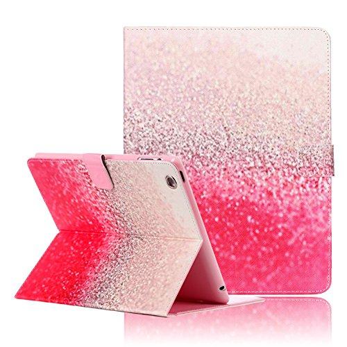 [iPad 2 iPad 3 iPad 4 Case, iPad 2/3/4 Cover,Funplus Beautiful Pink Snowflake Pattern Premium PU Leather with Magnetic Clouse Flip Folio Book Stand Case Cover for Apple iPad 2 iPad 3 iPad 4] (2 Snowflake)