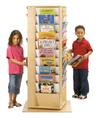 Revolving Literacy Tower - Large - School & Play Furniture ()