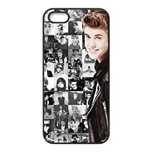 YUAHS(TM) New Cell Phone Case for Iphone 5,5S with Justin Bieber YAS130956