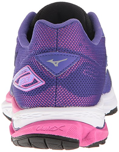Black Wave Purple 20 Women's Mizuno D Rider Shoes Running pP85qw5