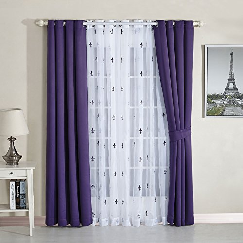 BNF Home Insulated Blackout Curtains product image