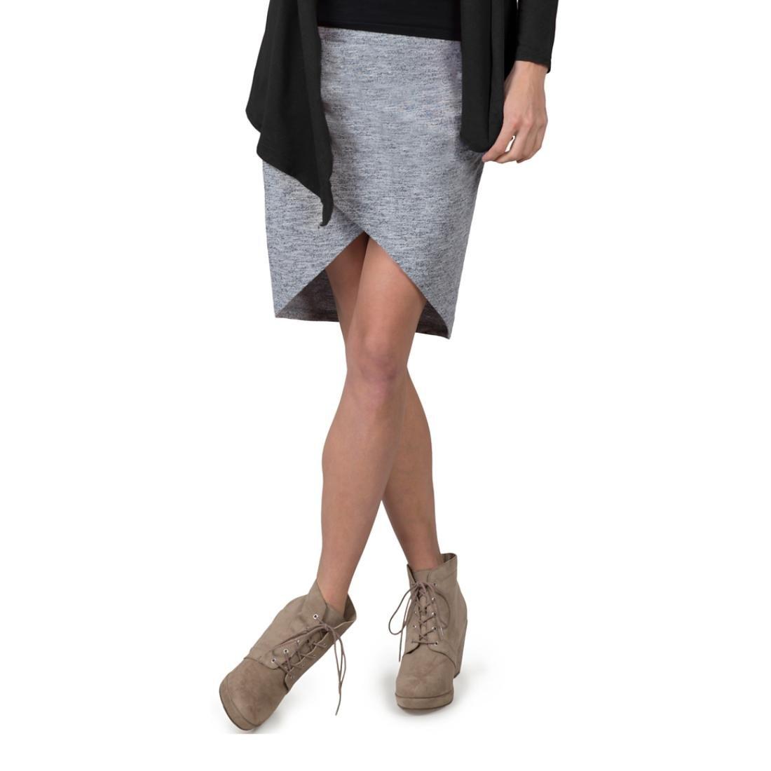 Soybu Women's Wren Skirt, Grey Heather, Large