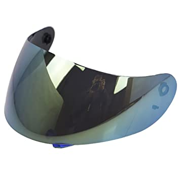 perfk 1 pieza Visera de Casco de Motocicleta compatible con ...