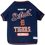 Pets First MLB Detroit Tigers Dog T-Shirt, Large