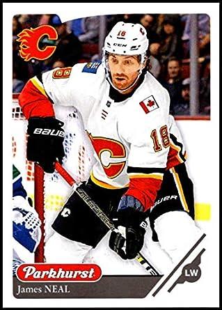 c2e805819 2018-19 Parkhurst Hockey  270 James Neal Calgary Flames Official NHL  Trading Card made