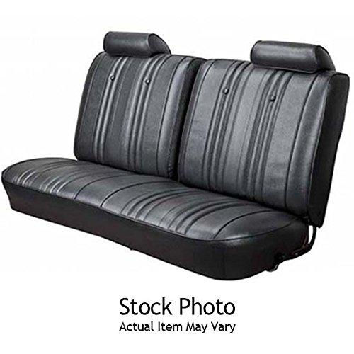 SEAT CVR FRONT BENCH CHEVELLE 70 BLACK