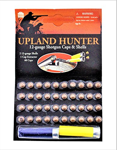 Parris Upland Hunter 12-Gauge Shotgun Caps and Shells (4 Pack)