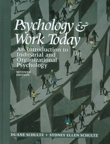 Industrial Psychology Books Pdf