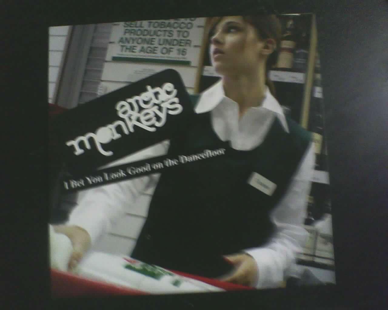 Arctic Arctic Monkeys I Bet You Look Good On The Dance Floor