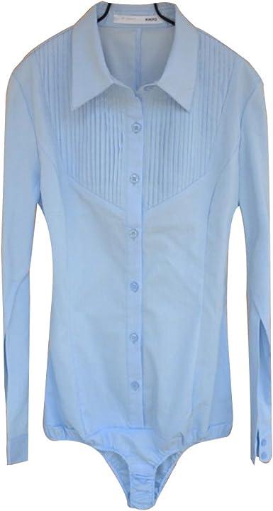 ZAMME Camisa sin Mangas para el Cuerpo de Mujer Blusa Tops Ropa de Trabajo: Amazon.es: Ropa y accesorios