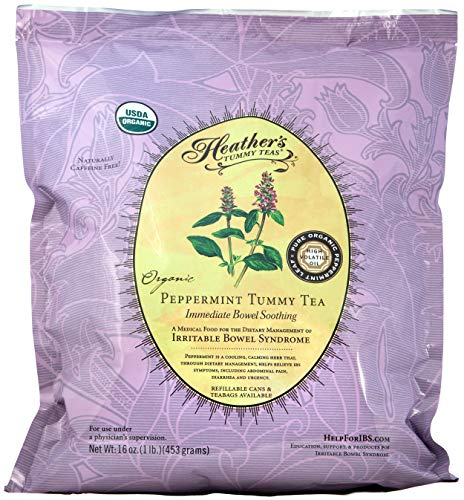 Peppermint Tea POUCH for Irritable Bowel Syndrome ~ Heather