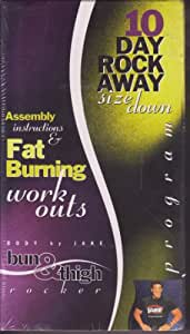 Body By Jake Bun and Thigh Rocker - Assembly Instructions and Fat Burning Work Outs: 10 Day Rock Away Size Down Program