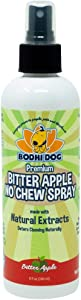 Bodhi Dog Premium Bitter Apple No Chew Spray | All Natural Training Aid | Bitter Apple Chewing Spray Repellent for Dogs & Puppies | Deter Dogs from Chewing & Biting | Made in USA | 8oz