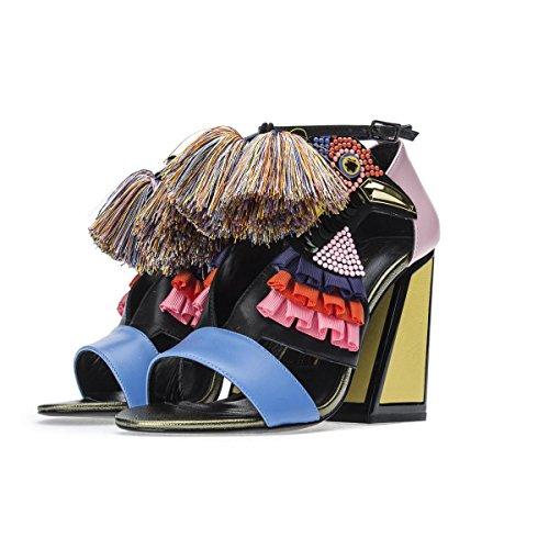 Kat Maconie Scarpe Donna Ayaupper Multi Colori Tacco 10 Pe18 Multicolor