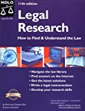 Legal Research, Stephen Elias and Susan Levinkind, 0873379195