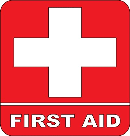 Amazon First Aid Kit Emergency Symbol Logo Sticker Picture Art