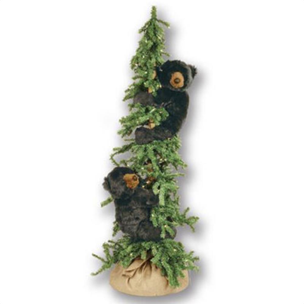 Black Bear Christmas Decorations