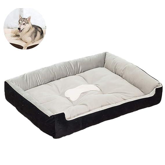 Naisicatar Cama 1pc perro camas perro de peluche perro de mascota suave cama caliente del de