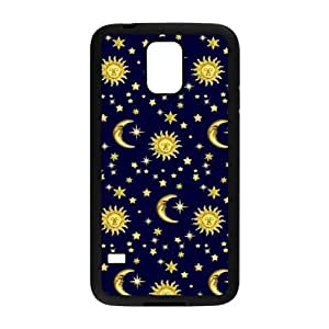 the sun and the moon Brand New Cover Case with Hard Shell Protection for SamSung Galaxy S5 I9600 Case lxa#306854