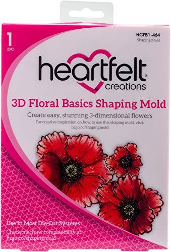 Heartfelt Creations 3D Shaping Mold Floral Basics, HCFB1 -   464