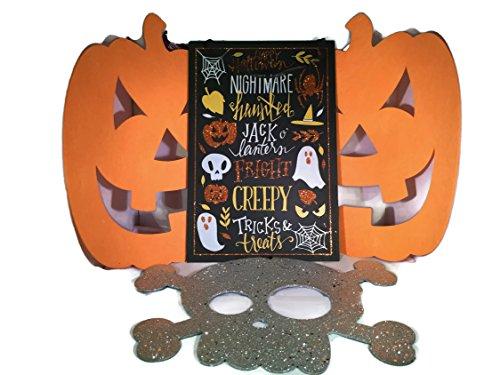 Halloween Decorative Bundle (4) Four Items: