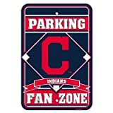 Cleveland Indians MLB Plastic Parking Signs