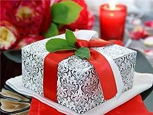 Black Color Cake Boxes Supplies Amazon